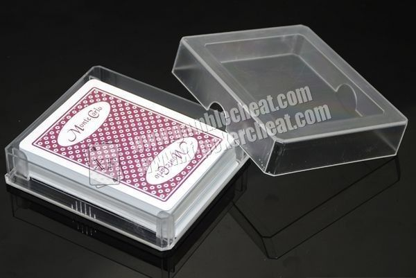 Texas Hold'em Monte Carlo Invisible Playing Cards For Lenses