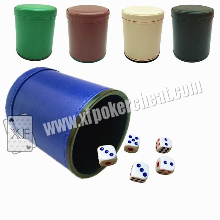 Normal Size Poker Games Magical Plastic Dice Cup With Remote Control